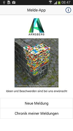 Melde-App Arnsberg