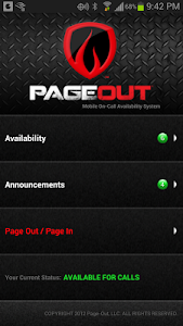 PageOut Fire screenshot 1
