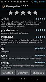ROM Manager Screenshot 4