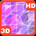 Mesmerizing Pink Rainbow 3D icon