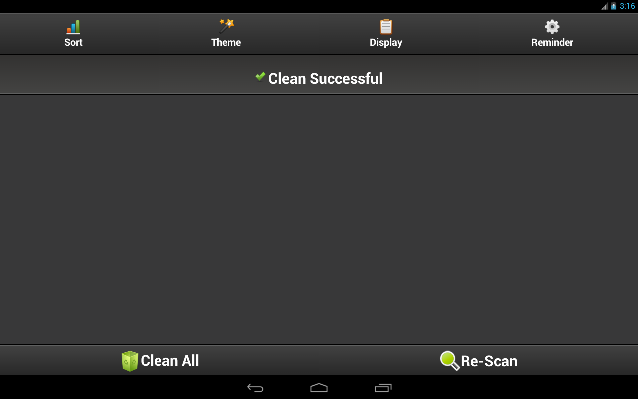 Cache Cleaner Easy - screenshot
