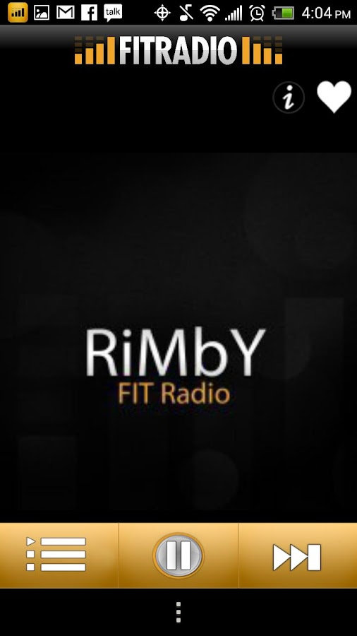 FIT Radio Workout Music - screenshot