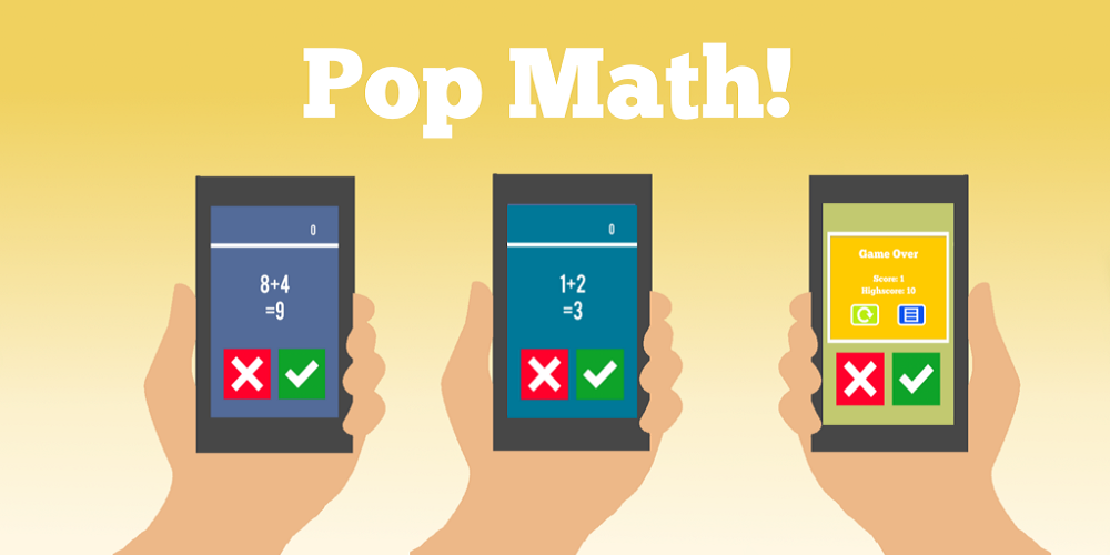 Pop Math!- screenshot