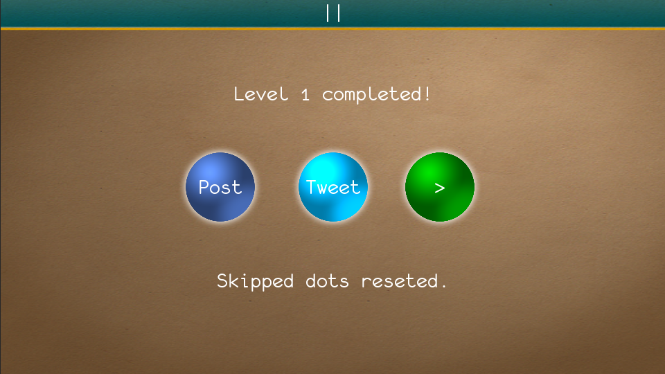 Touch The Dots - screenshot