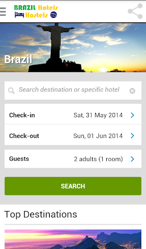 Brazil Hotels Hostels