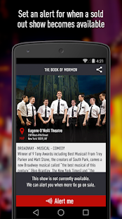 TodayTix – NYC Theater Tickets - screenshot thumbnail