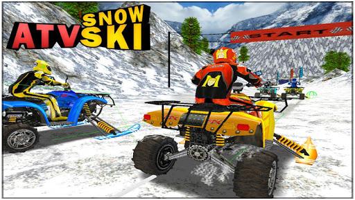 ATV Snow Ski Racing