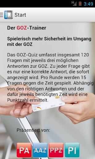 GOZ-Trainer