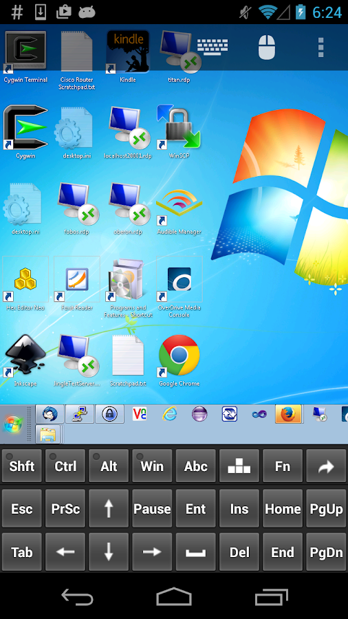 Remote Desktop Client- screenshot