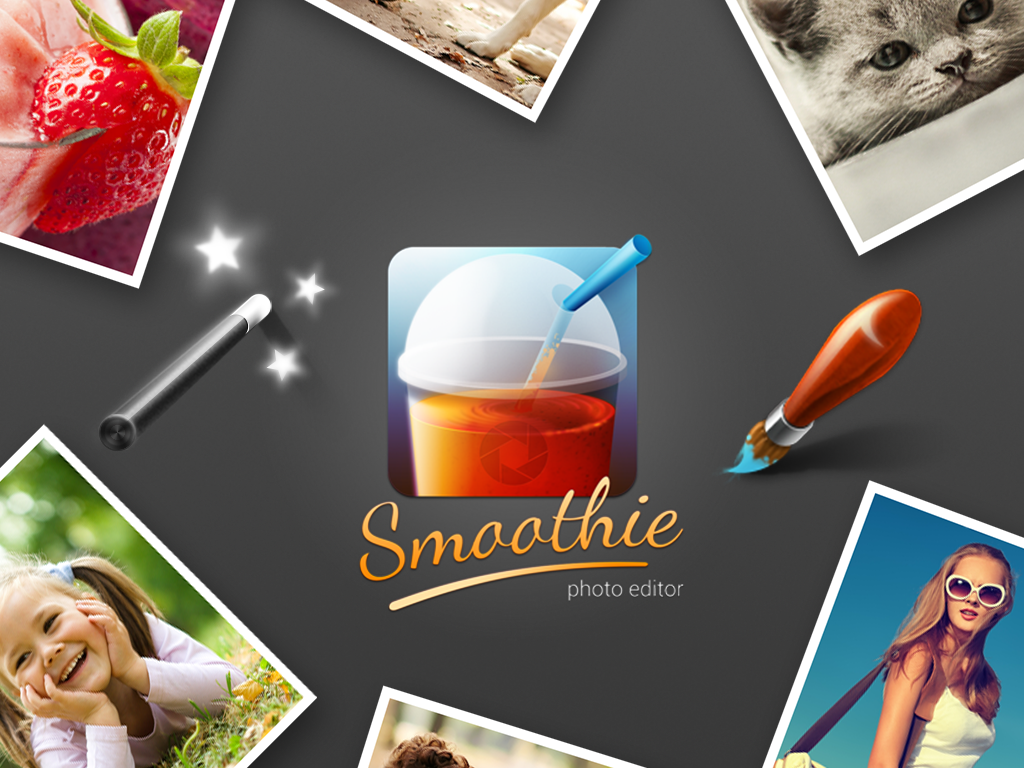 Smoothie Photo Editor - screenshot