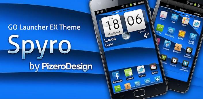 Spyro GO Launcher EX Theme v1.0