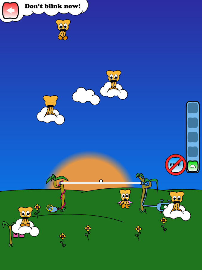 Teddies from Heaven Free- screenshot