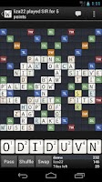 Screenshot of Wordfeud