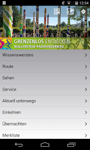 Wallenstein Radwanderweg – Miniaturansicht des Screenshots
