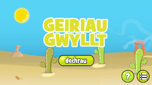 Geiriau Gwyllt