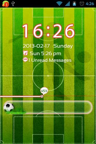 GO Locker Football Theme - screenshot