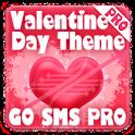Valentines GO SMS PRO Theme logo