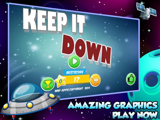 Spaceship battle:Keep IT DOWN