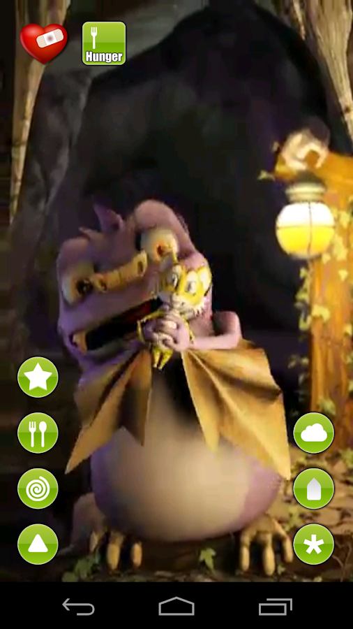 Draco, the talking bat- screenshot