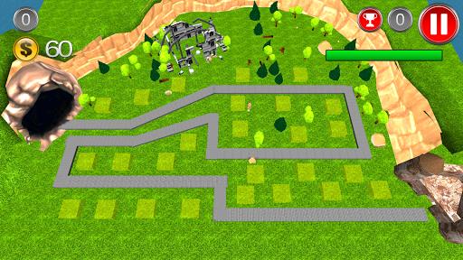 龙塔防游戏3D