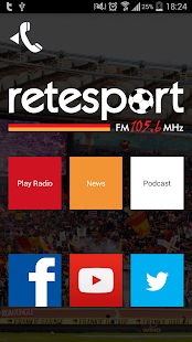 ReteSport App Ufficiale- screenshot thumbnail
