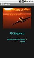 Screenshot of FSX Keyboard
