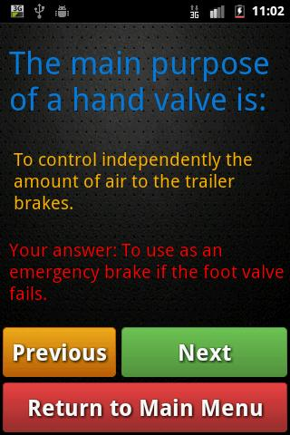 Motorcycle Theory Test ICBC- screenshot