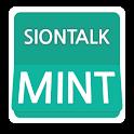 카카오톡 테마 - 시온톡 페이퍼 민트 카톡 icon