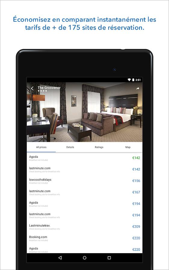 Trivago comparateur d 39 h tels applications android sur for Comparateur de hotel