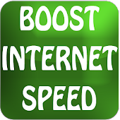 BOOST INTERNET SPEED