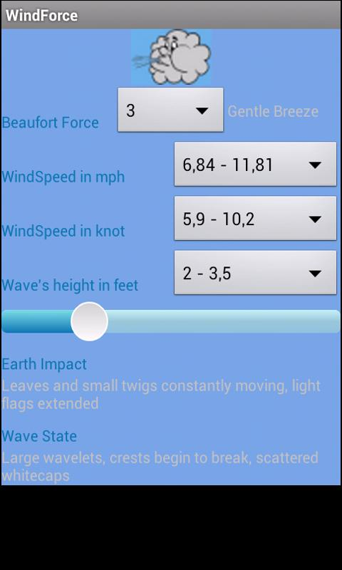 Wind Speed for dummies- screenshot