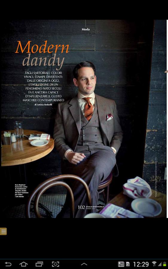 Business People Magazine - screenshot