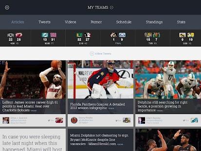 SportsManias: Sports News Feed