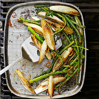 Grilled Asparagus and Endive