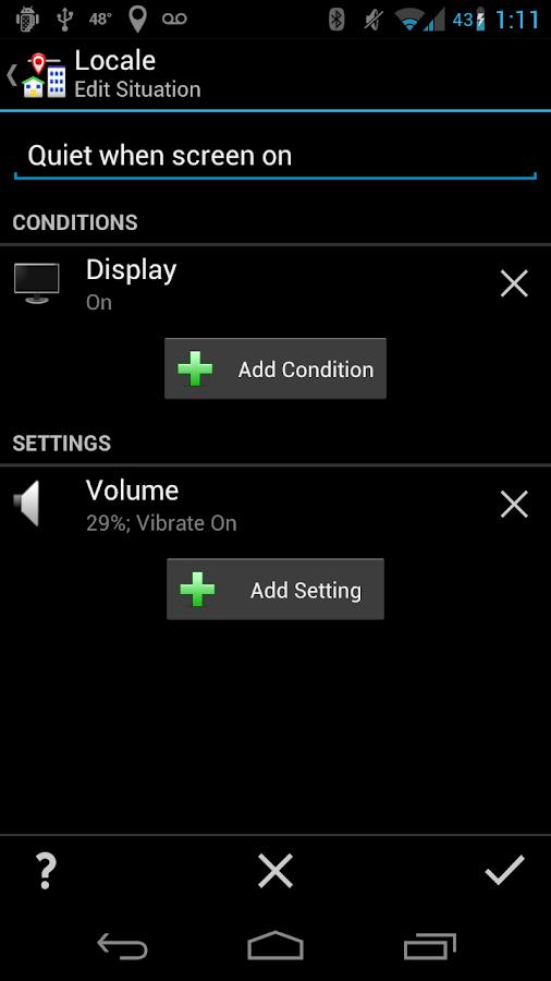 Locale Display Status- screenshot