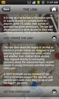 Screenshot of Teen Drinking Law