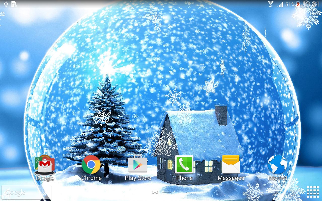 winter night live wallpaper android apps on google play