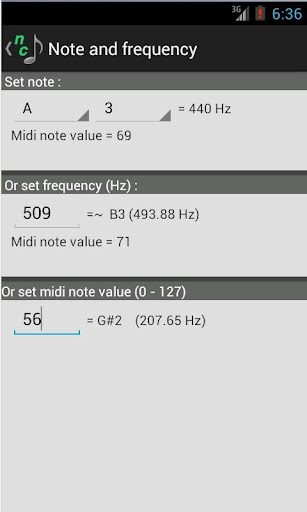 Note Converter with Tap Tempo