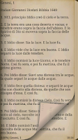 Screenshot of Bibbia. Giovanni Diodati