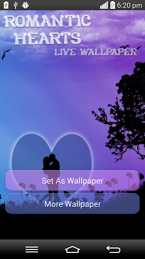 玩娛樂App|Romantic Hearts Live Wallpaper免費|APP試玩