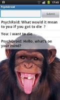 Screenshot of PsychDroid