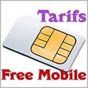 Tarifs Free Mobile icon