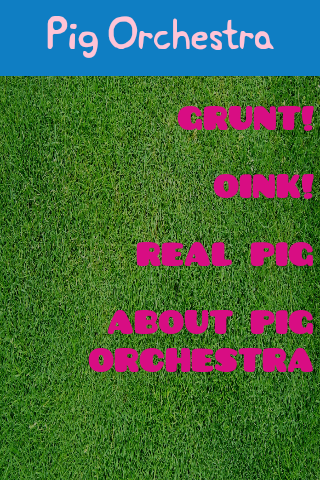 The Pig Orchestra