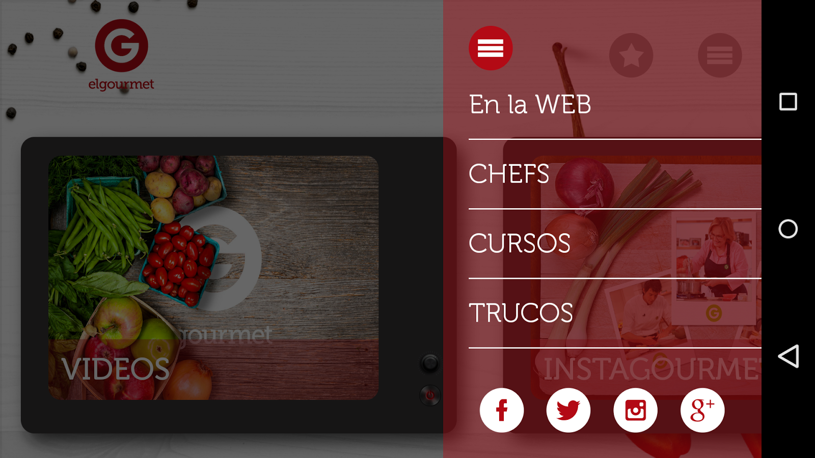 elgourmet - screenshot