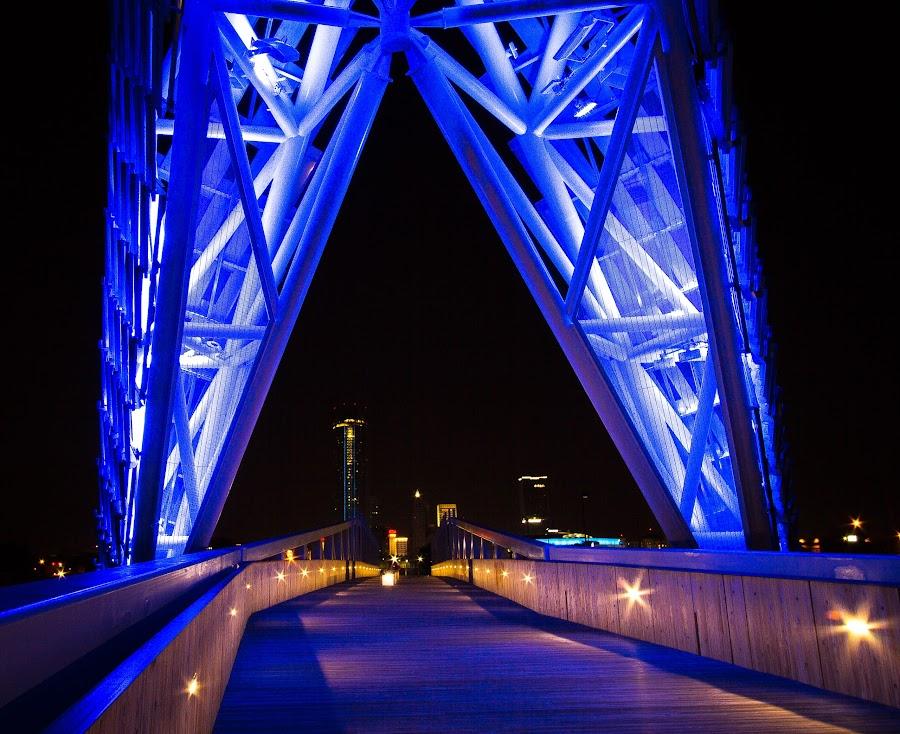 Skydance Bridge - OKC by Ron Meyers - Buildings & Architecture Bridges & Suspended Structures