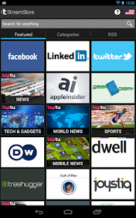 Taptu - DJ your News - screenshot thumbnail