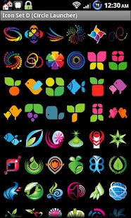 Icon Set D ADW/Circle Launcher - screenshot thumbnail