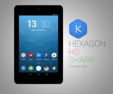 Kutbay - Hexagon Icon Pack - screenshot thumbnail