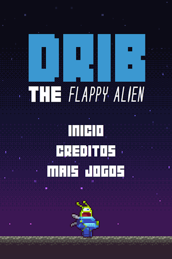 Drib the Flappy Alien