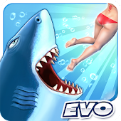 APK Game Hungry Shark Evolution for BB, BlackBerry